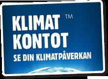 logga klimatkontot och länk till klimatkontot